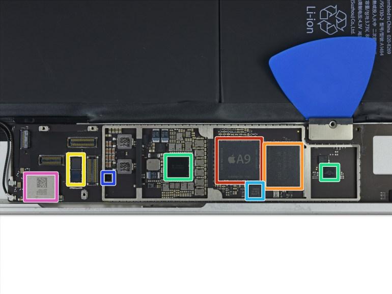 Новый планшет Apple iPad имеет много общего с первым iPad Air и все так же плохо поддается ремонту