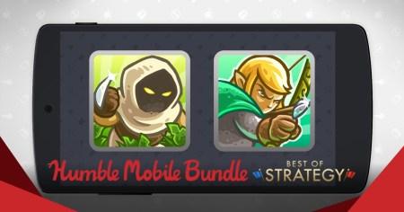 Humble Bundle выпустил подборку лучших стратегий для Android-смартфонов: Worms 4, Kingdom Rush, Guild of Dungeoneering и др.