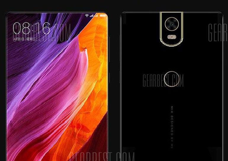 Smartphone Xiaomi Mi Mix 2 Gearbest appeared in the online store, announced its characteristics and price