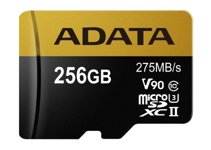 ADATA представила новую серию карт памяти Premier ONE, включающую решения UHS-II U3 Class 10 и Premier UHS-I Class 10