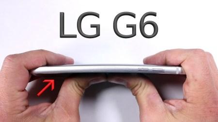 JerryRigEverything: Смартфон LG G6 великолепно справился с испытаниями на прочность [видео]
