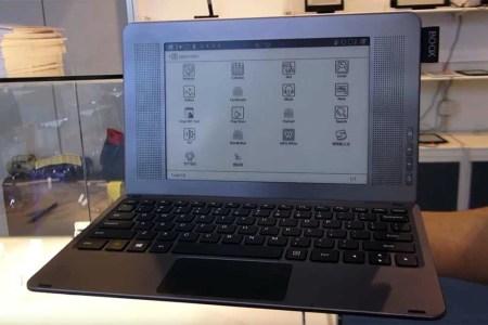 Onyx Boox Typewriter — «печатная машинка» с 9,7-дюймовым E Ink экраном и аппаратной QWERTY-клавиатурой [видео]