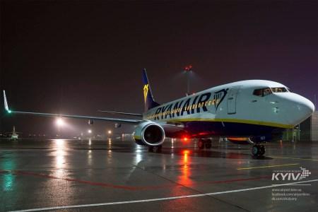 Глава аэропорта «Киев» (Жуляны) рассказал, что лоукостер Ryanair хочет получить скидку на обслуживание в 60-80% и намекнул на необходимость государственных дотаций