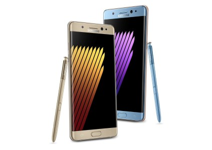 Появились фото восстановленного Samsung Galaxy Note7 в золотистом цвете, емкость аккумулятора уменьшена на 300 мА∙ч — до 3200 мА∙ч