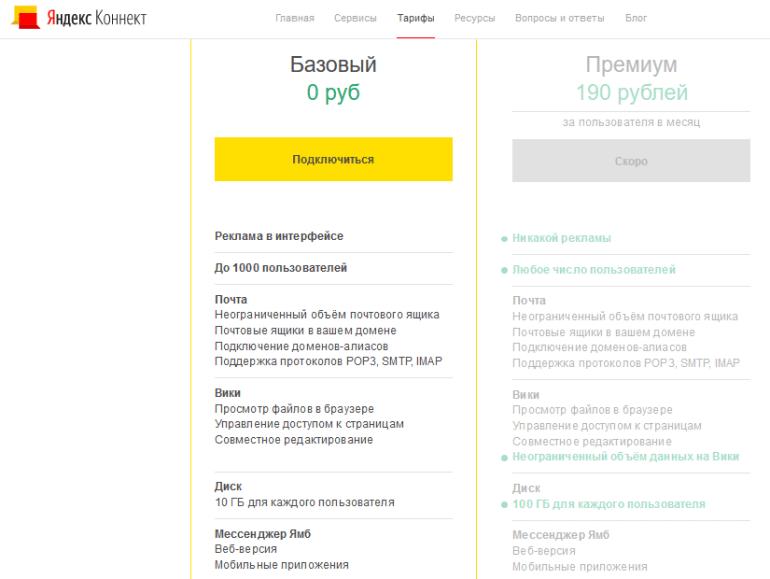 """Компания Яндекс запустила платформу для совместной работы """"Яндекс.Коннект"""""""