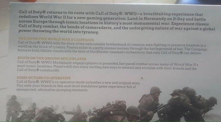 Call of Duty: World War II быть. Первые подробности о новой части франшизы