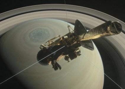 NASA опубликовало видео симуляции последнего этапа 20-летней миссии зонда Cassini