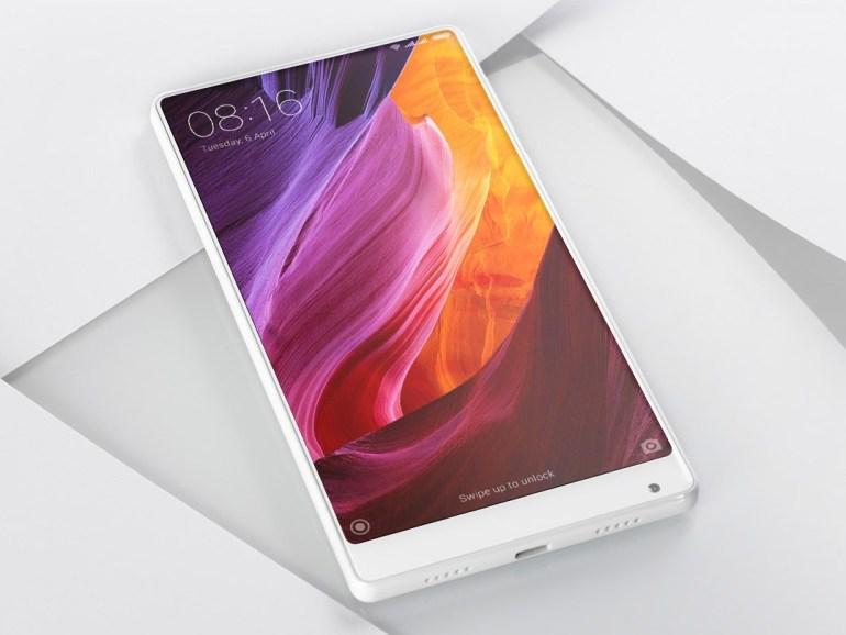 """По слухам, смартфон Xiaomi Mi 6 Plus получит 5,7-дюймовый дисплей, новый """"безрамочный"""" дизайн и будет представлен уже через два месяца"""