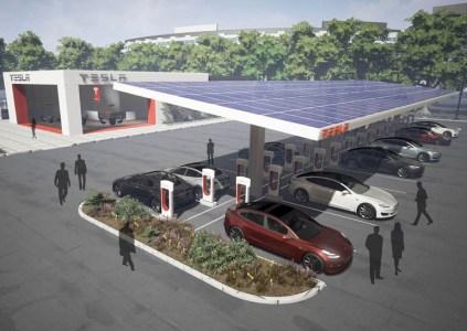 До конца 2017 года Tesla существенно увеличит сеть зарядных станций для электромобилей