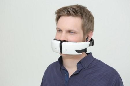 Украинцы вышли на Kickstarter с необычной Bluetooth-гарнитурой Hushme на пол-лица, которая буквально защищает разговоры от посторонних ушей