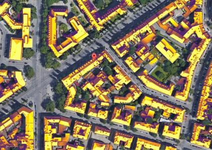 Сервис Google Project Sunroof, позволяющий оценить целесообразность установки дома солнечных панелей, добрался до Европы