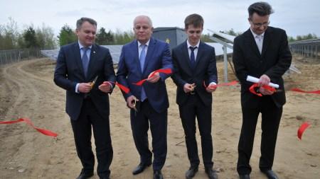 Во Львовской области запустили новую солнечную электростанцию на 9,9 МВт стоимостью $10 млн, еще одну за $12 млн строят в Одесской области