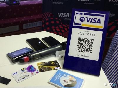 VISA представила новый вариант бесконтактных платежей с помощью QR-кодов и создала крупнейшую 3D-проекцию в честь Евровидения 2017