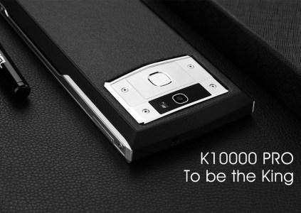 Смартфон Oukitel K10000 Pro с батареей на 10000 мА•ч можно будет зарядить за 3,5 часа