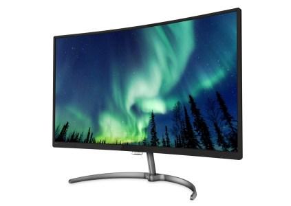 Philips 328E8QJAB5 — новый 32-дюймовый монитор для дома с изогнутым Full HD экраном по цене 9200 грн