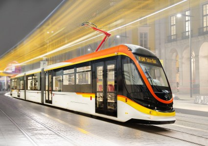 Украинская компания «Татра-Юг» представила современный трамвай К-1М6 с низким уровнем пола, кондиционером и Wi-Fi
