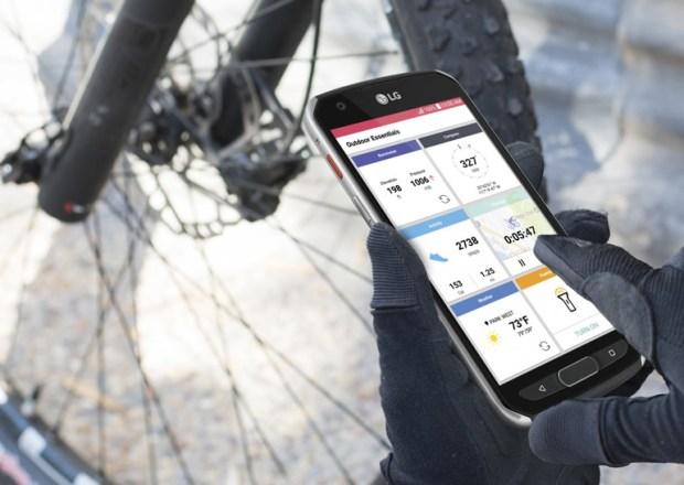 LG анонсировала защищённый смартфон X venture сльной многофункциональной кнопкой QuickButton