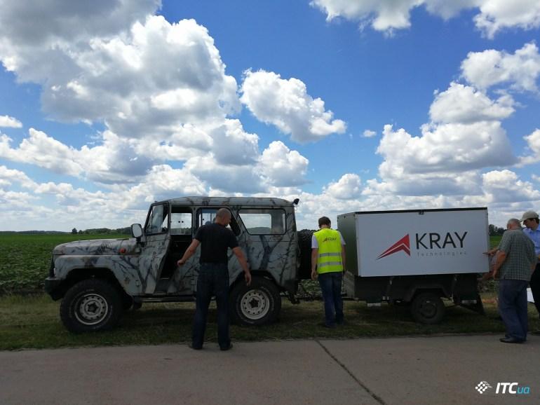 Современные технологии в агросекторе и знакомство с украинским дроном Kray Technologies