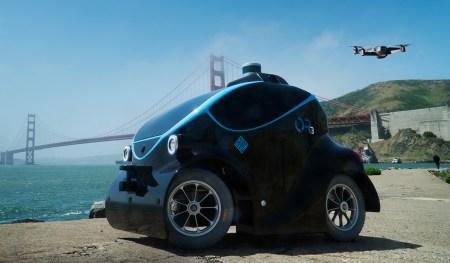 К концу года полиция Дубая выведет на улицы миниатюрные беспилотные электромобили Otsaw O-R3, способные распознавать лица и преследовать преступников