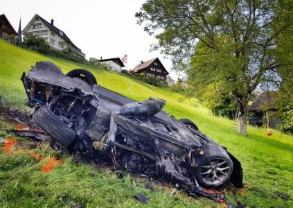 Ричард Хаммонд попал в серьезную аварию на электрическом суперкаре Rimac Сoncept One стоимостью $1 млн на съемках передачи The Grand Tour