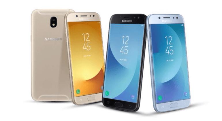 Представлены металлические смартфоны Samsung Galaxy J7 (2017) и Galaxy J5 (2017)
