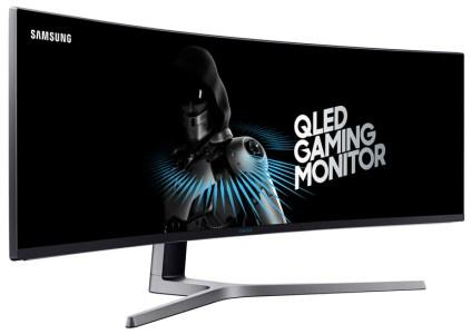 Samsung анонсировала 49-дюймовый изогнутый игровой монитор на базе технологии QLED