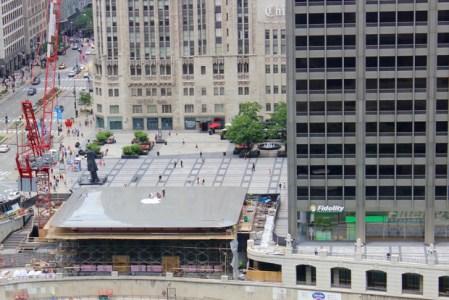 В Чикаго откроют новый Apple Store, крыша которого похожа на гигантский MacBook