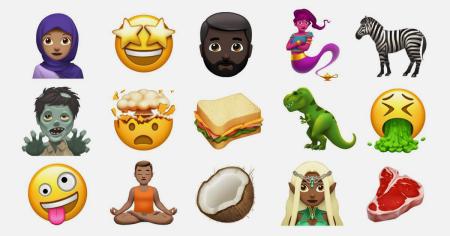 «Бородач-блондин, женщина-джинн и темнокожая эльфийка»: Apple представила новые эмодзи
