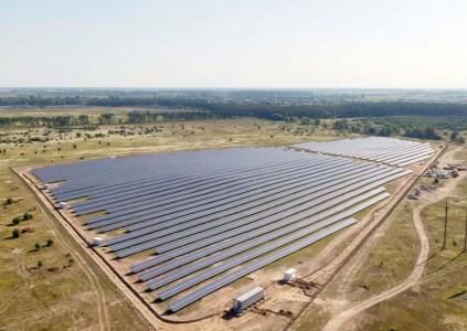 В Киевской области введена в эксплуатацию солнечная электростанция мощностью 6 МВт