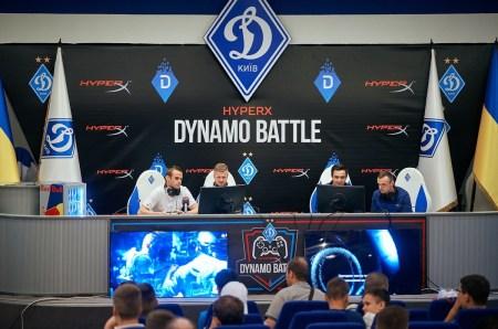 HyperX организовал матч по FIFA 17 между киберспортсменами и игроками киевского «Динамо»