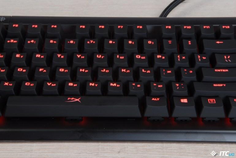 Обзор игровой механической клавиатуры HyperX Alloy Elite