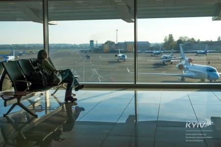 Киевские аэропорты отрапортовали о существенном росте пассажиропотока: «Жуляны» — на 60% за месяц, «Борисполь» — на 30% за полугодие