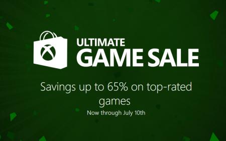 Microsoft объявила распродажу Ultimate Game Sale со скидкой на игры до 65%