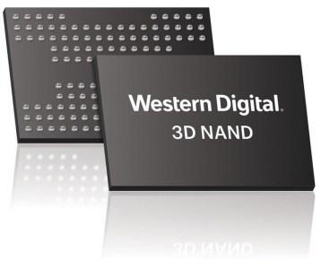 Western Digital создала 64-слойную флэш-память 3D NAND X4 (BiCS3), способную хранить четыре бита в одной ячейке