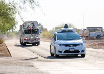 Waymo учит свои автономные автомобили выявлять транспорт экстренных служб