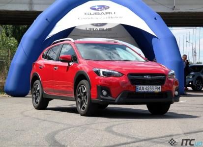 Новый кроссовер Subaru XV: технология EyeSight и 740 тыс. грн
