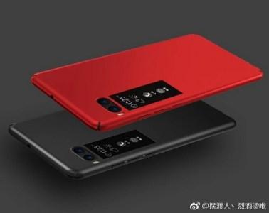 Новые фотографии смартфона Meizu Pro 7 демонстрируют дополнительный дисплей на задней панели