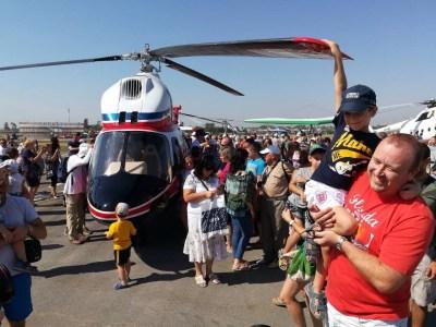 «Мотор Сич» показала «первый» украинский вертолет «Надія», который делали 10 лет