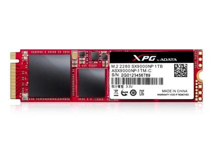ADATA представила геймерский SSD-накопитель XPG SX9000 c интерфейсом PCIe Gen3x4 NVMe 1.2