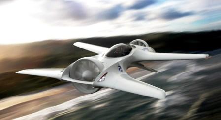 «Там, куда мы отправляемся, дороги не нужны!»: DeLorean DR-7 — концепт летающего электромобиля с вертикальным взлетом и посадкой