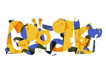 Google вітає з Днем Незалежності України святковим дудлом від українського художника Сергія Майдукова