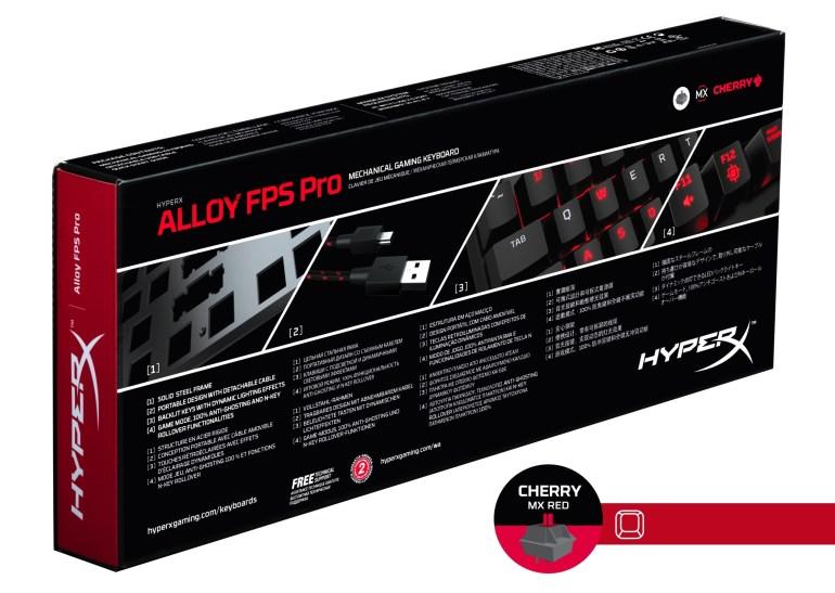 В Украине стартуют продажи компактной геймерской клавиатуры HyperX Alloy FPS Pro по цене 2499 грн