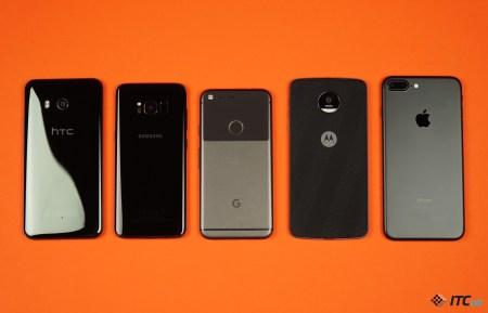Камера Google Pixel против Galaxy S8, HTC U11, iPhone 7 Plus и Moto Z (голосование)