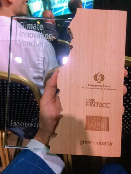 ЕБРР вручил «Климатические инновационные ваучеры» на 160 тыс. евро первым шести украинским компаниям, среди которых Ecoisme (мониторинг энергопотребления) и ElectroCars (биллинг электрозаправок)