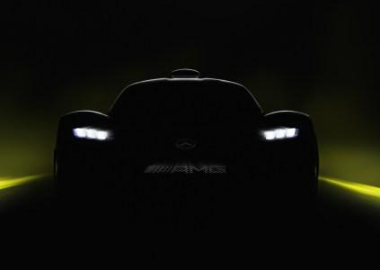 На Франкфуртском автошоу представят гиперкар Mercedes-AMG Project ONE с 1000-сильным гибридным двигателем от болида Formula 1 по цене $2,5 млн