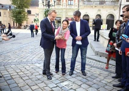 В День туризма Vodafone открыл умный туристический маршрут «Впервые во Львове» на основе QR-кодов