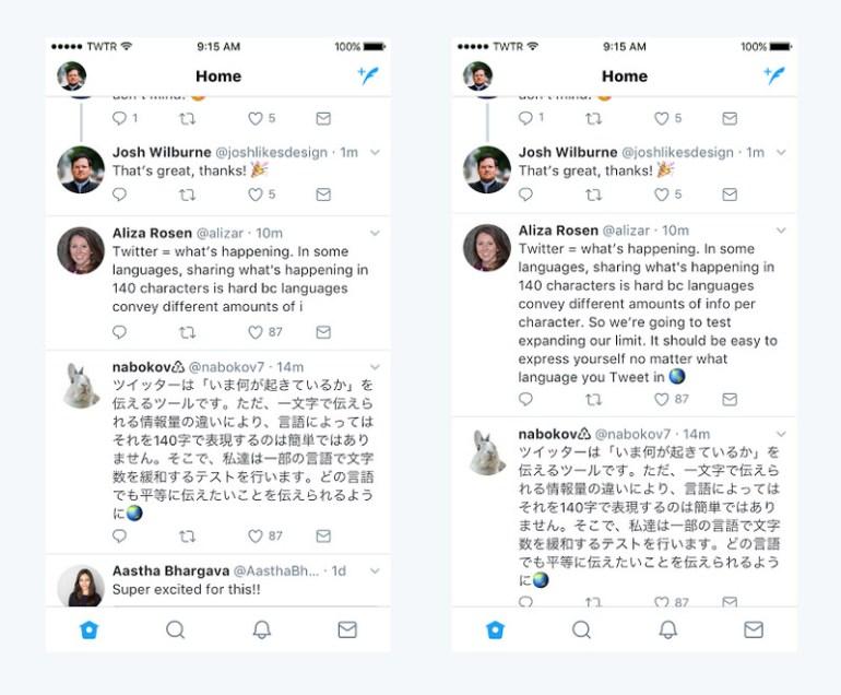 Twitter впервые вдвое увеличивает лимит на длину сообщений – до 280 символов