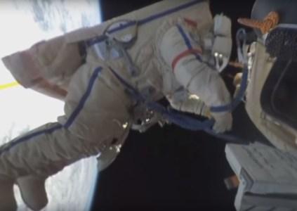 Опубликовано первое в мире видео из открытого космоса поблизости МКС с охватом 360 градусов