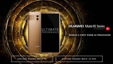 Сравнение характеристик Huawei Mate 10 Pro, Pixel 2 XL, Galaxy Note8 и iPhone X