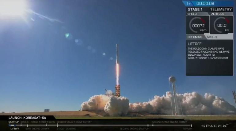 """SpaceX уже провела 16 успешных запусков Falcon 9 (13 """"возвратных""""), вдвое больше чем за весь 2016 год"""